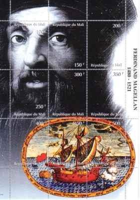 Ferdynand Magellan, zginął 27 kwietnia 1521 na wyspie Mactan